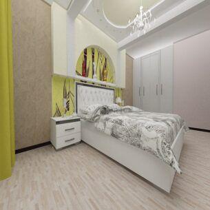 Кварц-Виниловая плитка WONDERFUL LuxeMIX 167-1-19 Орех Фино интерьер