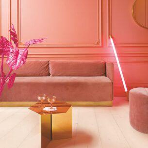 Ламинат Quick Step Signature SIG4754 Дуб розовый крашеный